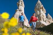 Hiking in the Fairy landscape of Cappadocia, Turkey