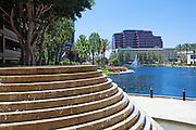 Lake Hutton at MacArthur Place in Santa Ana