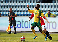 Fotball , 10. oktober 2009 , Privatkamp , Norge - Sør-Afrika<br /> Norway - South-Africa 1-0<br /> <br /> Teko Modise , Sør-Afrika