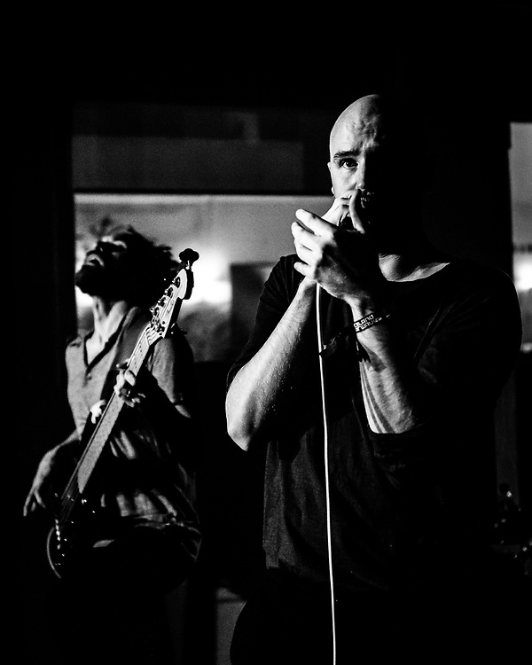 Arnór Dan and Vignir Rafn of Icelandic alternative-rock band Agent Fresco at Iceland Airwaves