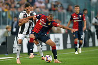 Rodrigo Betancur of Juventus Sandro of Genoa compete for the ball during the Serie A 2018/2019 football match between Juventus and Genoa CFC at Allianz Stadium, Turin, October, 20, 2018 <br />  Foto Andrea Staccioli / Insidefoto