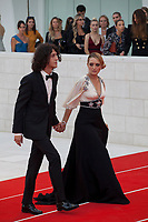Singer Francesco Motta and Carolina Crescentini  at the First Man Premiere, Opening Ceremony and Lifetime Achievement Award To Vanessa Redgrave at the 75th Venice Film Festival, Sala Grande on Wednesday 29th August 2018, Venice Lido, Italy.