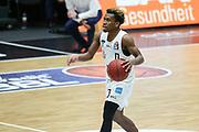 Basketball: Deutschland, 1. Bundesliga, Hamburg Towers -  EWE Baskets Oldenburg, Hamburg, 14.04.2021<br /> TJ Shorts (Towers,)<br /> © Torsten Helmke