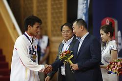 November 3, 2018 - Beijing, Beijing, China - Beijing,CHINA-First day of the FINA Swimming World Cup in Beijing, China, November 2nd, 2018. (Credit Image: © SIPA Asia via ZUMA Wire)