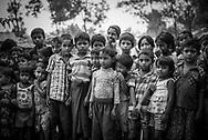 Rohingya children at Kutupalong refugee camp, Bangladesh (October 29, 2017)