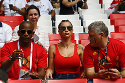 June 23, 2018 - Moscou, Russie - Moscow, Russia - June 23 :  illustration picture of the family of  Axel Witsel midfielder of Belgium 's wife  Rafaella during the FIFA 2018 World Cup Russia group G phase match between Belgium and Tunisia at the Spartak Stadium on June 23, 2018 in Moscow, Russia 23/06/2018 (Credit Image: © Panoramic via ZUMA Press)