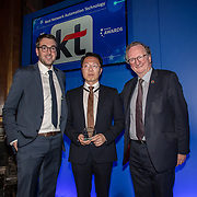 KT 5G winner of the Best Network Automation Technology of the 5G Awards ceremony at Drapers' Hall, on 12 June 2019, London, UK.