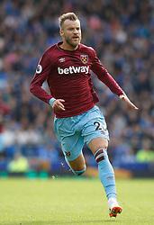 West Ham United's Andriy Yarmolenko during the game