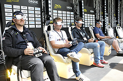 2nd edition of Paris Drone Festival and 1st stage of Drone Champions League (DCL) on the Champs Elysees in Paris, France on June 4, 2017. Photo by Alain Apaydin/ABACAPRESS.COM