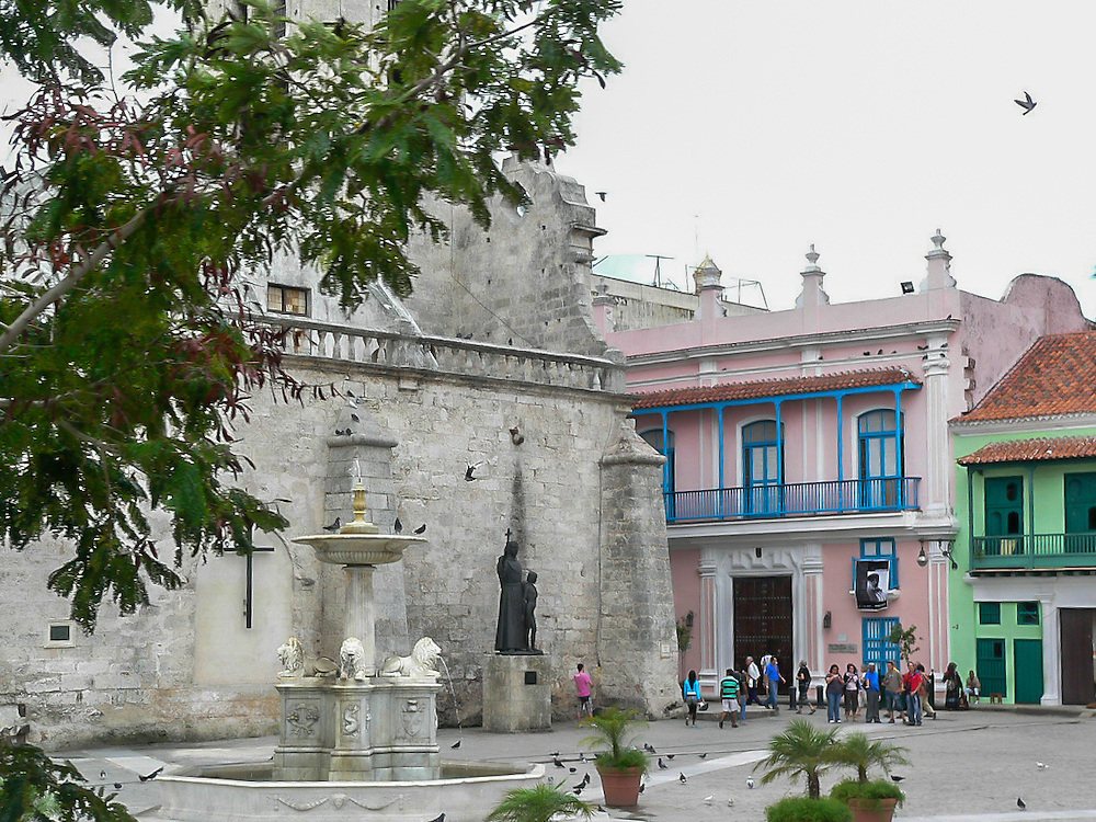 Photographs of the architecture and urban conditions of Havana, Cuba.