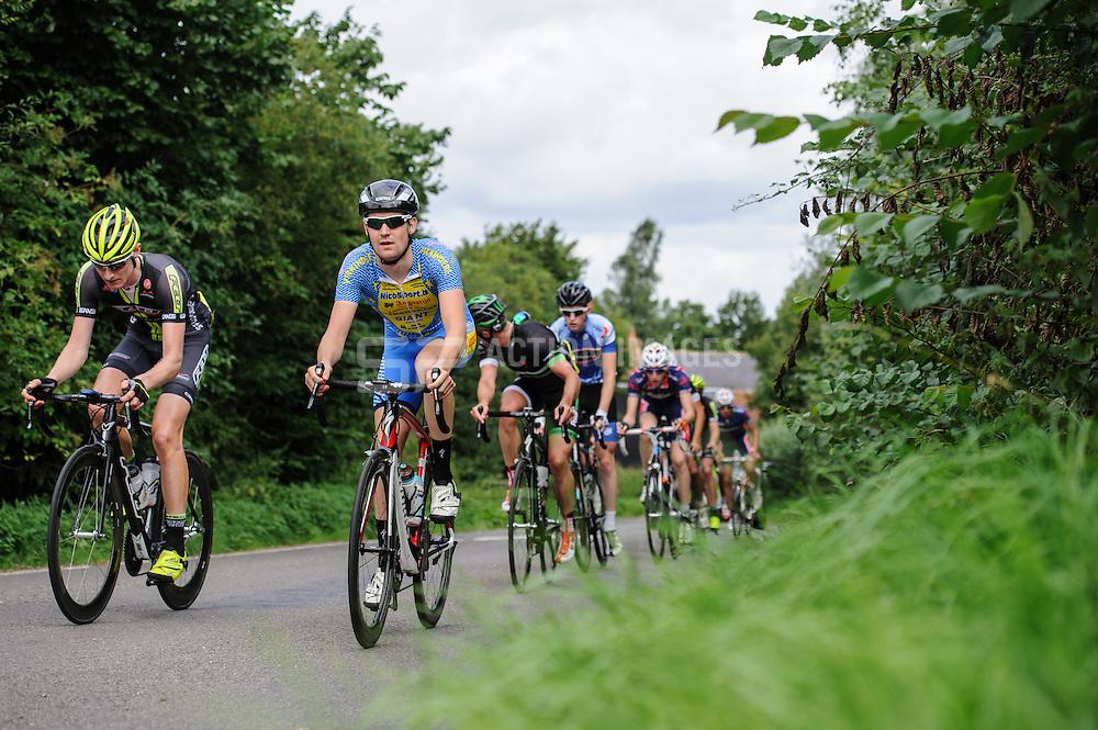 Glendene Road Race,  Great Saling, UK on 18 August 2013. Photo: Simon Parker