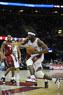 Devin Brown of Cleveland..The Miami Heat lost to the host Cleveland Cavaliers 84-76 at Quicken Loans Arena, April 13, 2008...