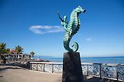 ?Caballero del Mar? The Seahorse by Rafael Zamarripa, 1976, The Malecon, Puerto Vallarta, Jalisco, Mexico