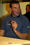 2004_ Matt Pinsent Retirement Press Conference - Leander Club -  Henley on Thames...Matt Pinsent, comfirmed this morning,[10am Tues. 30.1.2004] at a press conference held at Leander Club. That the Olympic M4- final was his last race in a GB vest...30.11.2004 Photo  Peter Spurrier. .email images@intersport-images.com...[Mandatory Credit Peter Spurrier/ Intersport Images]