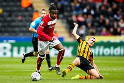 Kasey Palmer of Bristol City takes on Daniel Batty of Hull City - Mandatory by-line: Robbie Stephenson/JMP - 05/05/2019 - FOOTBALL - KCOM Stadium - Hull, England - Hull City v Bristol City - Sky Bet Championship