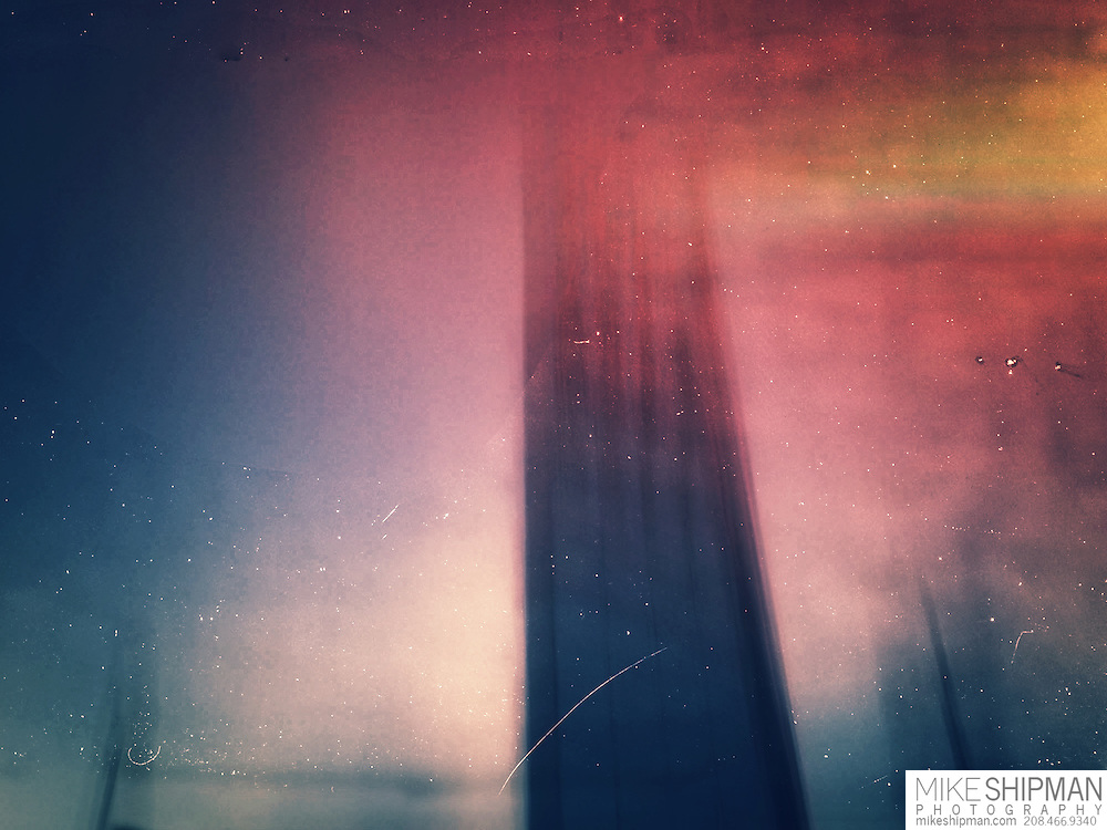 Dark Tower, an iphone abstract