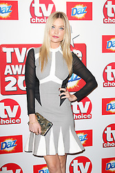 © Licensed to London News Pictures. 09/09/2013, UK. Laura Whitmore, TV Choice Awards, The Dorchester Hotel, London UK, 09 September 2013 Photo credit : Richard Goldschmidt/Piqtured/LNP