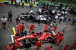 November 11, 2018 - Sao Paulo, Brazil - Motorsports: FIA Formula One World Championship 2018, Grand Prix of Brazil World Championship;2018;Grand Prix;Brazil ,   , #5 Sebastian Vettel (GER, Scuderia Ferrari) (Credit Image: © Hoch Zwei via ZUMA Wire)