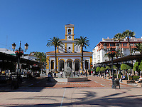 Plaza de Iglesia, San Pedro de Alcantara, Marbella, Malaga Province, Spain. 201411090055. <br />