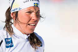 March 10, 2019 - Oslo, NORWAY - 190310 Charlotte Kalla of Sweden after the women's 30 km classic technique mass start during the FIS World Cup on March 10, 2019 in Oslo..Photo: Jon Olav Nesvold / BILDBYRÃ…N / kod JE / 160424 (Credit Image: © Jon Olav Nesvold/Bildbyran via ZUMA Press)