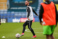 Forest Green Rovers Carl Winchester(7) warming up during the The FA Cup 1st round match between Oxford United and Forest Green Rovers at the Kassam Stadium, Oxford, England on 10 November 2018.