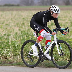01-03-2020: Wielrennen: Hageland vrouwen: Tielt-Winge: Marlen Reusser