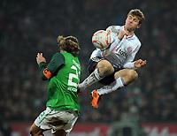 Fotball<br /> Tyskland<br /> 29.01.2011<br /> Foto: Witters/Digitalsport<br /> NORWAY ONLY<br /> <br /> v.l. Torsten Frings, Thomas Mueller (Bayern)<br /> <br /> Bundesliga, SV Werder Bremen - FC Bayern München 1:3