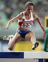 GEPA-2708074161 - OSAKA,JAPAN,27.AUG.07 - LEICHTATHLETIK, SPORT DIVERS - IAAF, Leichtathletik Weltmeisterschaft 2007, 3000m Huerden, Damen. Bild zeigt Tatjana Petrova (RUS)<br /> <br /> Norway only