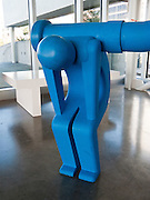 """""""In the Mind"""" art sculpture by Geoff McFetridge (born 1971 in Canada, see his current web site championdontstop.com), displayed at Seattle Art Museum Olympic Sculpture Park Pavilion, Seattle, Washington, USA"""