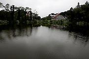 Gramado_RS, Brasil...Lago Negro em Gramado, Rio Grande do Sul...Lago Negro (Black Lake) in Gramado, Rio Grande do Sul...Foto: MARCUS DESIMONI / NITRO