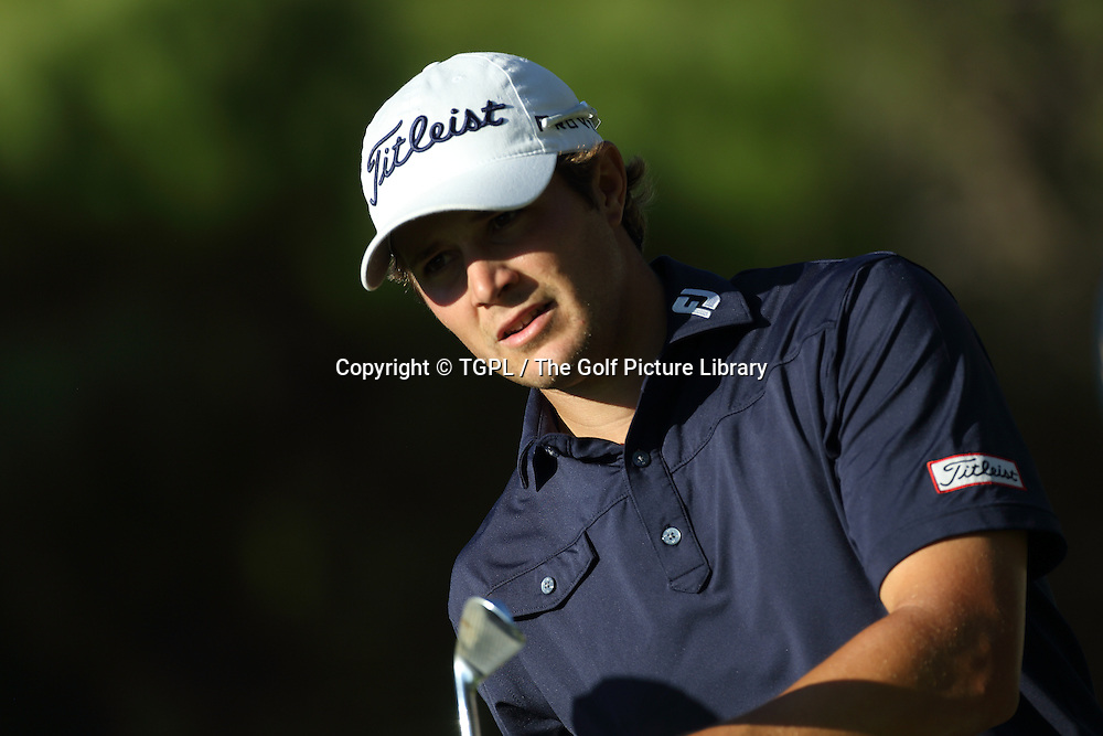 Peter UIHLEIN (US) during second round Turkish Airlines Open by Ministry of Culture and Tourism 2013,Montgomerie Course at Maxx Royal,Belek,Antalya,Turkey.
