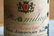 hermitage 1993 domaine paul jaboulet hermitage rhone france