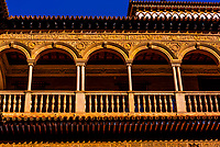 The Alcázar of Seville (Real Alcazar) is a royal palace in Seville, Spain, built for the Christian king Peter of Castile.