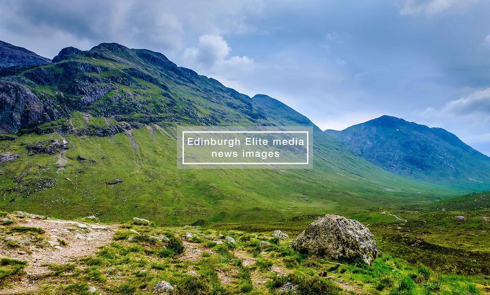 Glencoe - the footpath to Glen Etive, Highlands of Scotland<br /> <br /> (c) Andrew Wilson | Edinburgh Elite media