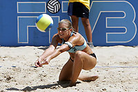 Beachvolleyball, 22. september 2004,  RIO DE JANEIRO<br /> CECILIE JOSEFSEN, NORGE<br /> FOTO LUCIANO PIERANUNZI, DIGITALSPORT