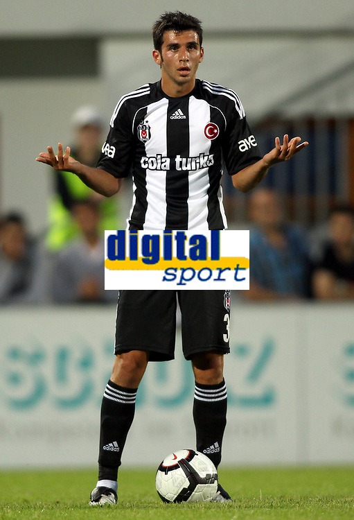 Fotball<br /> 06.07.2010<br /> Foto: Gepa/Digitalsport<br /> NORWAY ONLY<br /> <br /> Erste Liga, Sueper Lig, SV Groedig vs Besiktas Istanbul, <br /> <br /> Bild zeigt Ismail Koybasi (Istanbul).