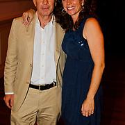 NLD/Hilversum/20100819 - RTL perspresentatie 2010, Frits Barend en dochter Barbara Barend