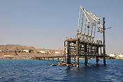 Trans-Israel pipeline also Tipline or Eilat-Ashkelon Pipeline is an oil pipeline in Israel that transported crude oil originating from Iran inside Israel and to Europe. The Oil Jetty in Eilat, Israel
