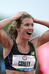 Olympic Trials Eugene 2012: womens; 5000 meters, 3rd place Kim COnley makes Olympic team