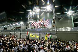 FORMEL 1: GP von Singapur, Siegerehrung, Singapur, 26.09.2010<br /> Illustration<br /> © pixathlon
