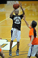 The Lorain County Basketball Coaches Associations annual Senior All-Stars doubleheader featuring Orange vs Black on March 20, 2012 at the Elyria Catholic Coliseum.