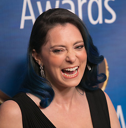 February 17, 2019 - Beverly Hills, California, U.S - Rachel Bloom in the red carpet of the 2019 Writers Guild Awards at the Beverly Hilton Hotel on Sunday February 17, 2019 in Beverly Hills, California. ARIANA RUIZ/PI (Credit Image: © Prensa Internacional via ZUMA Wire)