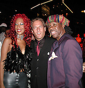 Sylver Logan Sharp , Michael Bolton & Nile Rodgers.Smock Magazine Launch Party.South Street Seaport.New York, NY.June 26, 2001.Photo By CelebrityVibe.com..