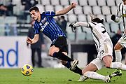 Foto Marco Alpozzi/LaPresse <br /> 16 Dicembre 2020 Torino, Italia <br /> sport calcio <br /> Juventus Vs Atalanta - Campionato di calcio Serie A TIM 2020/2021 - Allianz Stadium<br /> Nella foto:    Remo Freuler (Atalanta B.C.); Daniele Rugani (Juventus F.C.);<br /> <br /> <br /> Photo Marco Alpozzi/LaPresse <br /> December 16, 2020 Turin, Italy <br /> sport soccer <br /> Juventus Vs Atalanta - Italian Football Championship League A TIM 2020/2021 - Allianz Stadium<br /> In the pic:   Remo Freuler (Atalanta B.C.); Daniele Rugani (Juventus F.C.);