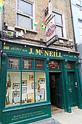 Combined bar and music shop, J. Mc Neiil, Dublin, Ireland, Irish Republic