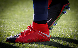 July 26, 2017 - Santa Clara, CA, USA - Santa Clara, CA - Wednesday July 26, 2017: Clint Dempsey new NIKE boots during the 2017 Gold Cup Final Championship match between the men's national teams of the United States (USA) and Jamaica (JAM) at Levi's Stadium. (Credit Image: © Celso Bayo/ISIPhotos via ZUMA Wire)