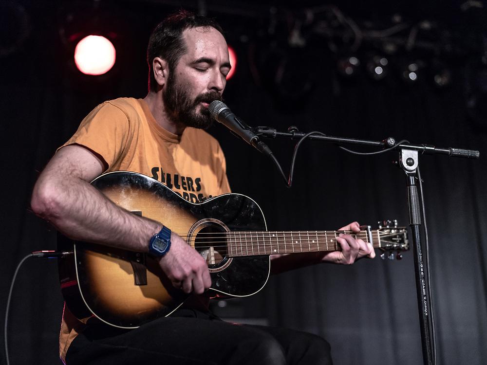 Welsh singer-songwriter Meilir supporting The Joy Formidable at Nachtleben in Frankfurt