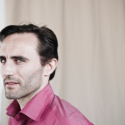 Un Poison Violent's actor Stefano Cassetti, at the 63rd Cannes Film Festival. France. 15 May 2010. Photo: Antoine Doyen