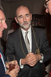 CHRISTOPHER LE BRUN President of the RA at a dinner to celebrate Sir David Tang's 20 year patronage of the Royal Academy of Arts and the start of building work on the Burlington Gardens wing of the Royal Academy held at 6 Burlington Gardens, London on 26th October 2015.
