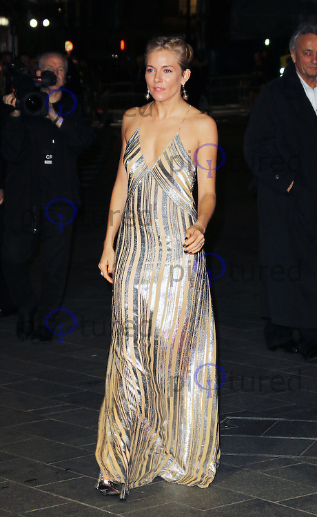 Sienna Miller, Foxcatcher - BFI London Film Festival American Express gala, Leicester Square, London UK, 16 October 2014, Photo by Richard Goldschmidt